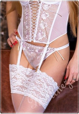 Thongs La Bella 109, white pink